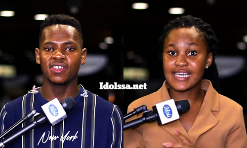 Idols SA 2020 Top 2 Contestants (Finalists), Mr Music and Zama Khumalo