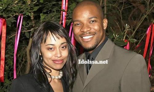 Candy Litchfield and ex-husband Hlomla Dandala