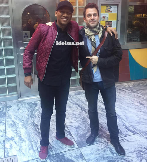 Collin Moss and ProVerb in New York