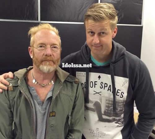Deon Maas and Gareth Cliff