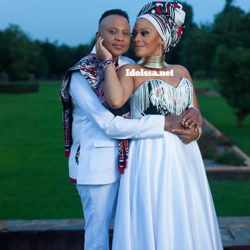 Letoya Makhene and Lebo Keswa traditional wedding