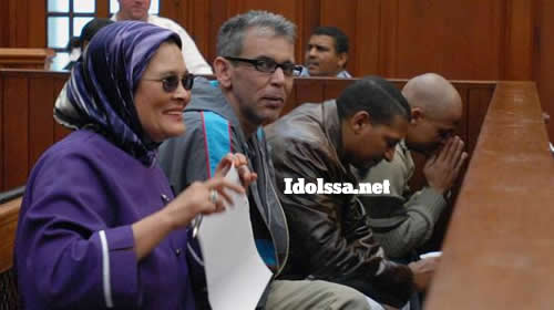 Najwa Dirk Petersen and her co-accused Abdoer Raasiet Emjedi, Waheed Hassen and Jefferson Tion Snyders in the Cape Town High Court