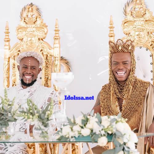 Somizi Mhlongo and Mohale Tebogo Motaung traditional wedding
