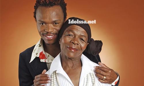 Somizi Mhlongo and his mother Mary Twala