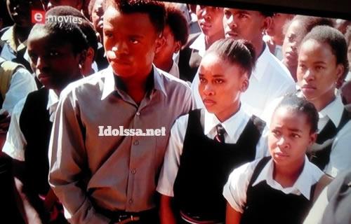 Somizi Mhlongo in Sarafina