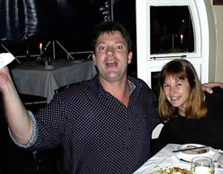 Steve Hilton-Barber and his wife Monica