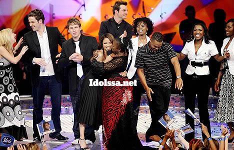 Judge Marah Louw and Jody Williams at Idols SA season 4 Grand Finale
