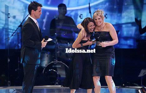 Idols SA host Colin Moss, Jody Williams and Andriëtte Norman at the Season 4 Grand Finale