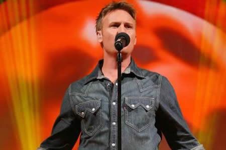 Jason Dean Hartman performing at the Idols SA season 5 Top 3 Live Show