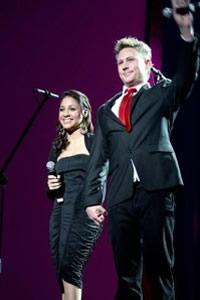 Jason Dean Hartman and Sasha-Lee Davids at the Idols SA Season 5 Grand Finale