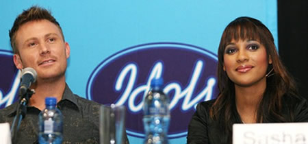 Idols SA Season 5 Winners, Jason Dean Hartman and Sasha-Lee Davids