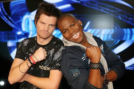 Idols SA Season 6 Top 2 contestants