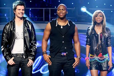 Idols SA Season 6 Top 3 contestants