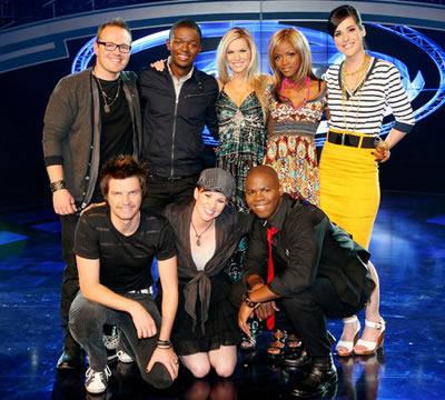 Idols SA Season 6 Top 8 contestants