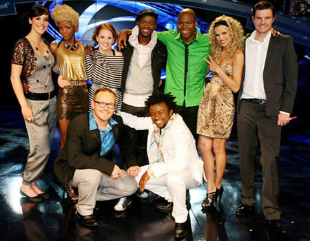 Idols SA Season 6 Top 9 contestants