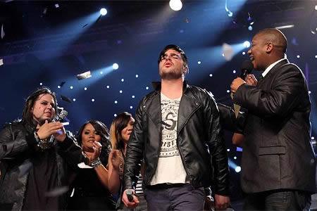 Dave van Vuuren, Idols SA season 7 winner at the Grand Finale