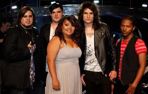 Idols SA Season 7 Top 5 contestants