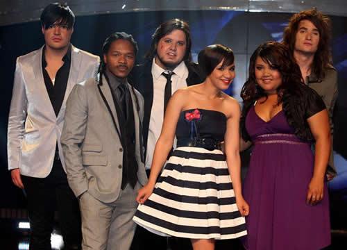 Idols SA Season 7 Top 6 contestants