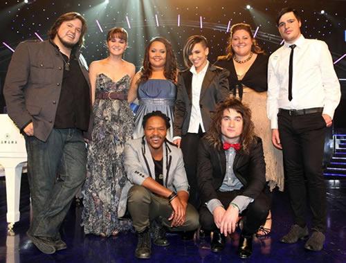 Idols SA Season 7 Top 8 contestants