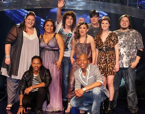 Idols SA Season 7 Top 9 contestants