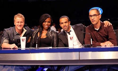 Idols SA Season 7 judges with Guest Judge, Craig David at Top 4 Show