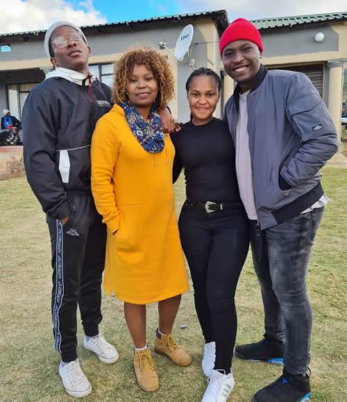 Idols SA Season 16 contestants Zama Khumalo and Brandon Dhludhlu are dating
