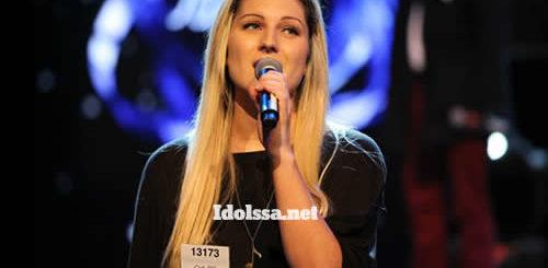 Chloe Kiley, Idols SA Season 8 Top 18 Contestant