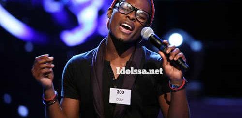 Dumi Masilela, Idols SA Season 8 Top 18 Contestant