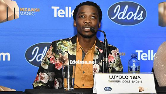 Idols SA Season 15 Winner, Luyolo Yiba