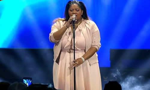 Noma Khumalo performs at the Idols SA Season 12 Grand Finale