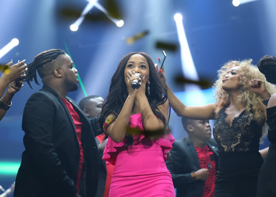 Paxton Fielies performs her debut single 'Demonstrate' after being crowned as the Idols SA Season 13 winner