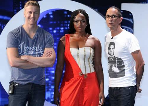 Idols SA Season 10 Judges, Gareth Cliff, Unathi Nkayi and Randall Abrahams