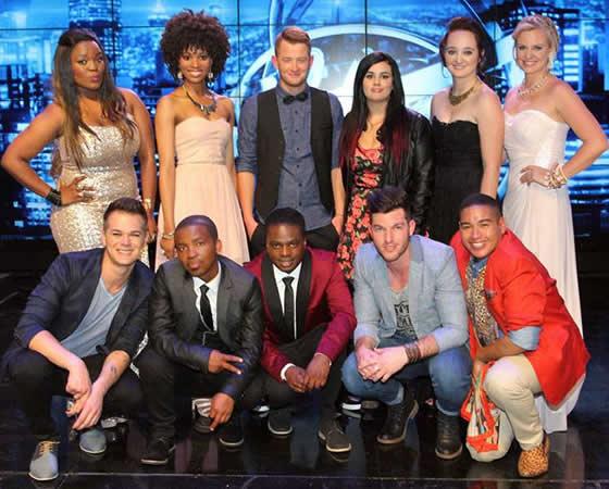 Idols SA Season 10 Top 11 Contestants