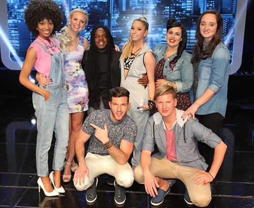 Idols SA Season 10 Top 16 Group 2 Contestants
