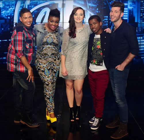 Idols SA Season 10 Top 5 Contestants