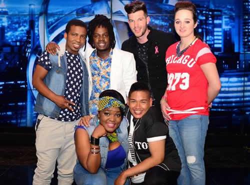Idols SA Season 10 Top 6 Contestants