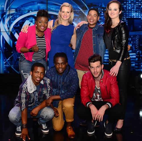 Idols SA Season 10 Top 7 Contestants
