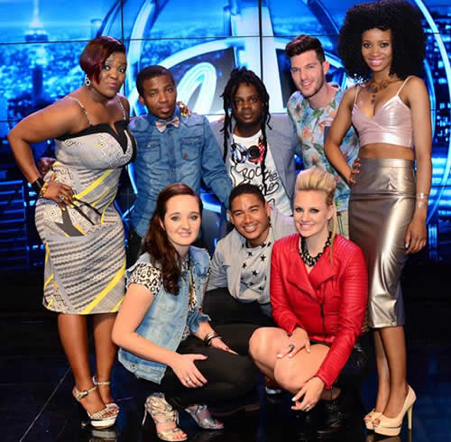 Idols SA Season 10 Top 8 Contestants