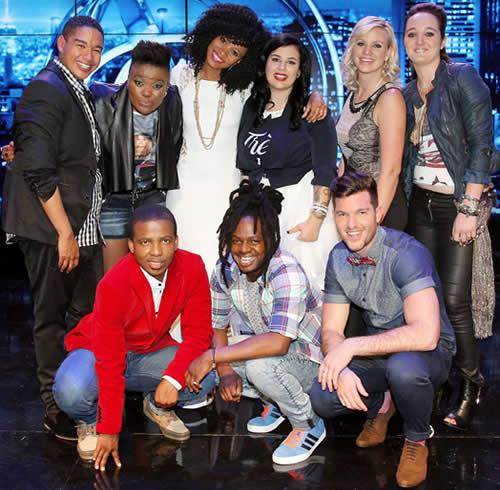 Idols SA Season 10 Top 9 Contestants