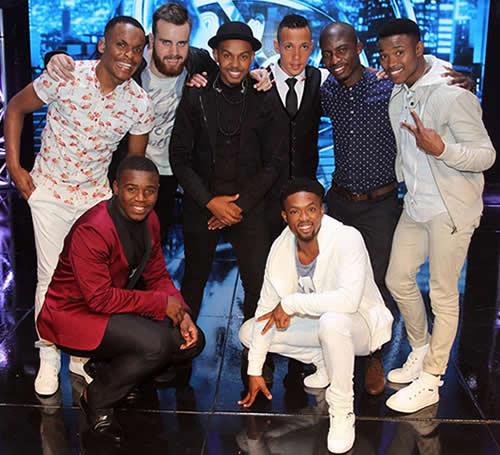 Idols SA Season 11 Top 16 boys