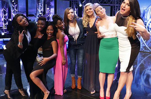 Idols SA Season 11 Top 16 girls