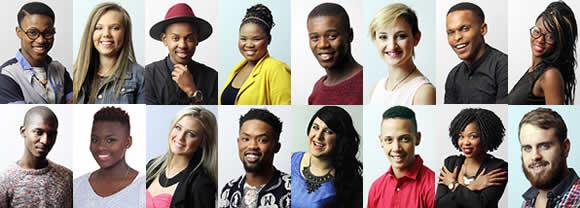 Idols SA Season 11 Top 16 Contestants