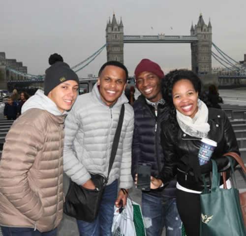 Idols SA Season 11 Top 4 Contestants, Rhema Varrie, Siphelele Ngcobo, Mmatema Moremi and Karabo Mogane in London