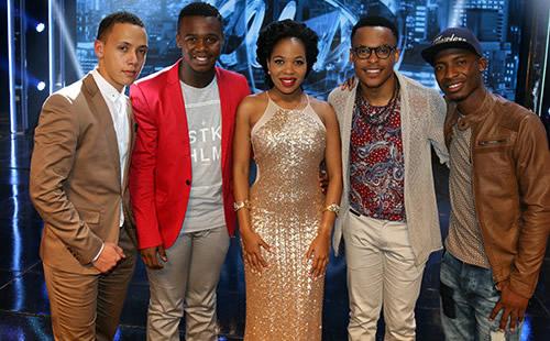Idols SA Season 11 Top 5 Contestants