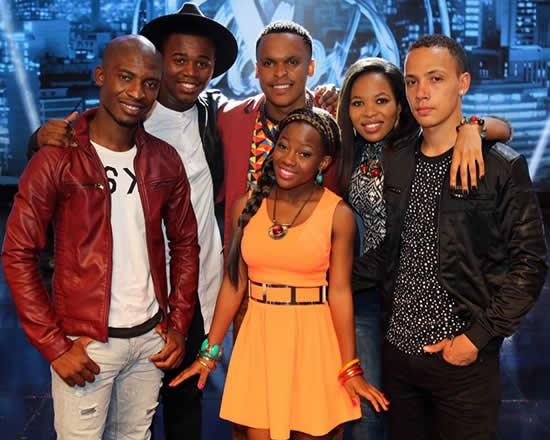 Idols SA Season 11 Top 6 Contestants