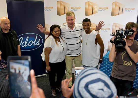 Idols SA Season 12 Top 2 Contestants Mzansi Magic Grand Finale Press Conference