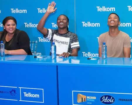 Idols SA Season 12 Top 3 at Menlyn Mall Pretoria