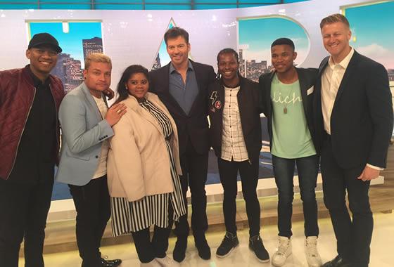 Idols SA Season 12 Top 4 Contestants, Thami Shobede, Noma Khumalo, Terra Cox and Tebogo Louw New York Trip