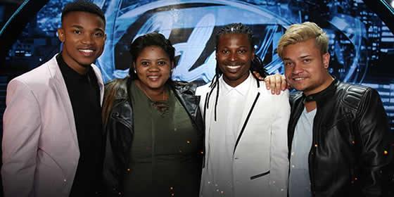 Idols SA Season 12 Top 4 Contestants