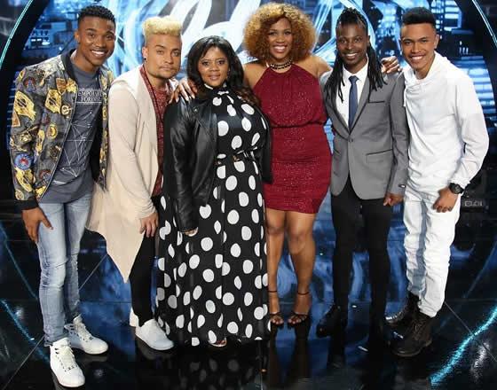Idols SA Season 12 Top 6 Contestants